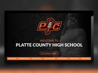 Platte County High School Digital Signage