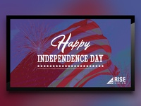 Independence Day Template for Digital Signage