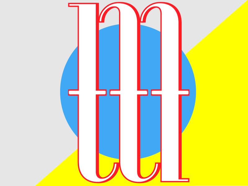 Bauhaus initial logo mikemoreno 3
