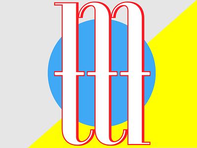 Bauhaus Initial Logo bauhaus type typography design adobehiddentreasures graphic design logo