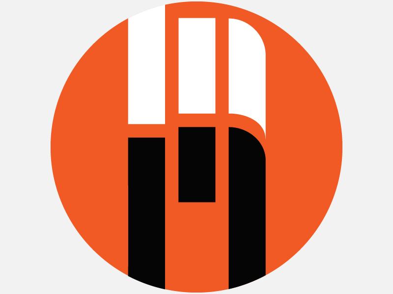 Favicon Logo Mike Moreno logo graphic design adobehiddentreasures design typography type bauhaus