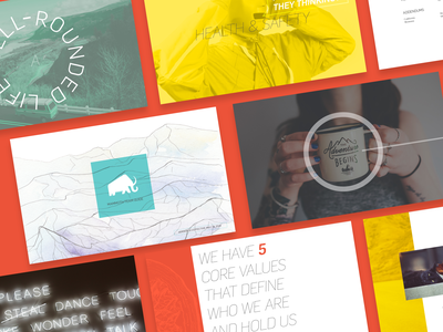 Team Guide –Layout Study illustration design vector typography branding