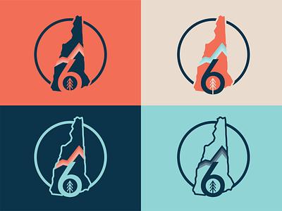 6 Oh Tree Badge Exploration minimal vector illustration typography design branding
