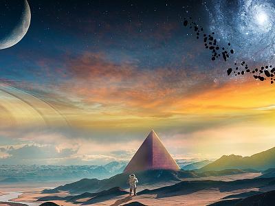 New Planet new planet space secret temple astronaut manipulation