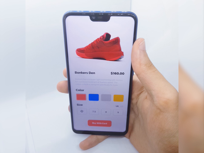 Shoe Shop design interactiondesign color 3d app design e-commerce shop shoes shoe app product animate ux ui interface motion design motion interaction animation
