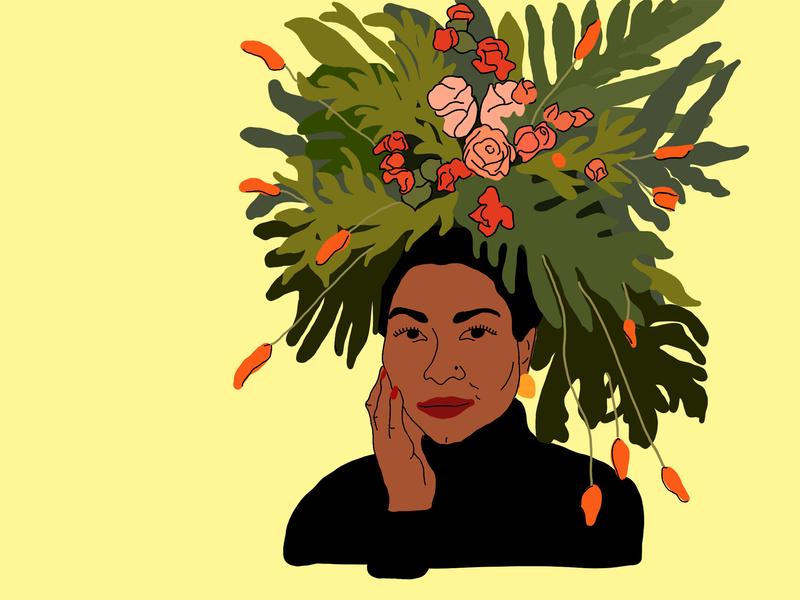 Inspirational Womxn Rachel Cargle feminism ipadpro procreate app procreate design illustration