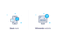 Icons new website