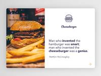 Cheeseburger header
