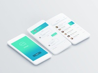 Daily UI challenge #001 — App screen