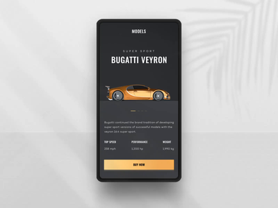 Car Selection Interaction webdesign app design cart product page store shopping ecommerce 3d interaction car clean ui website ui  ux app design minimal