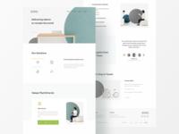Stock Photo Agency Website header agency homepage branding ui  ux ui clean minimal design web design website company
