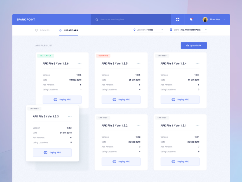 Devices Management Platform 02 by Pham Huy on Dribbble