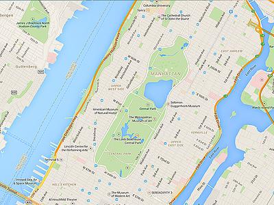 Fanta NYC concept visual maps design fanta