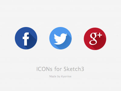 share icons for sketch3 sketch3 icon kyenlee longshade
