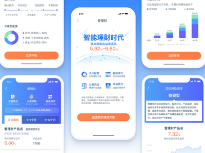 UI of AI financial products