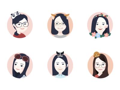 cartoon avatar for team colleagues(1)
