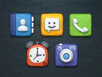 Plasticine Icons