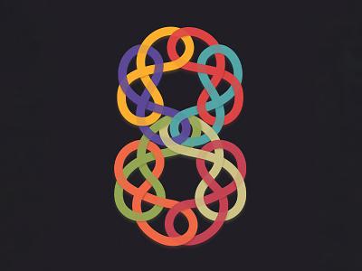 8 for 36 days of type amadineapp calligraphy typo letters letter branding ornament logo illustration app amadine art vector 8 36daysoftype