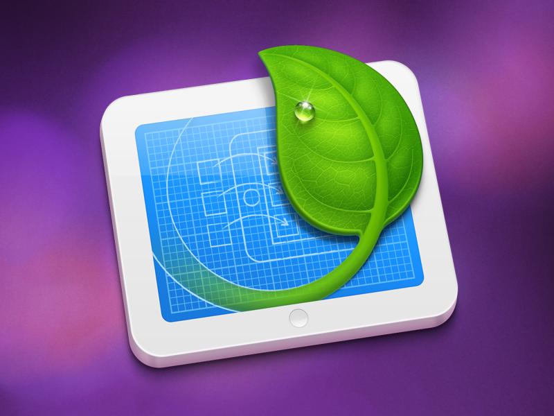 Leaf leaf mac icon drop blueprint