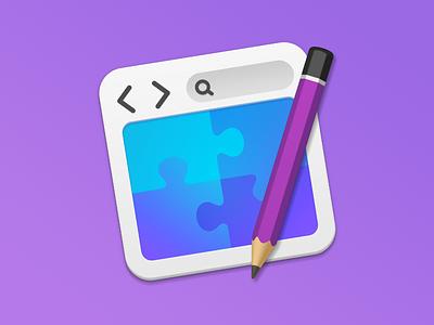 New RapidWeaver icon puzzle pencil mac os icons app icon