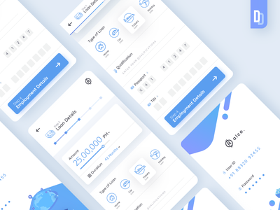 Alco App #1 | Daily Design | TGZ lms loan design daily mobile ux ui