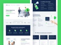 MeetWashing - Website washing caracter 3d