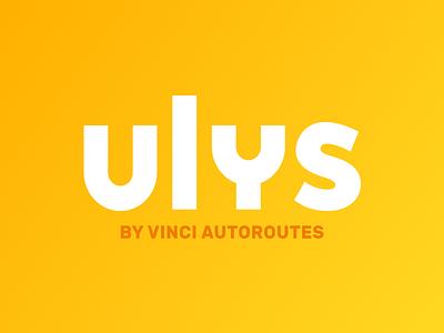 Ulys vinci autoroutes vinci road car ulys logo