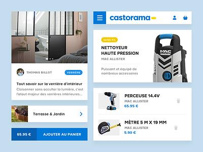 Castorama - Ui Kit ui kit kit ui web responsive mobil castorama app