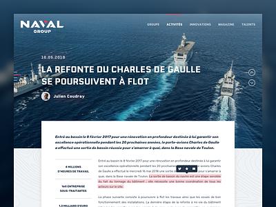 Naval Group - Article article naval group group naval