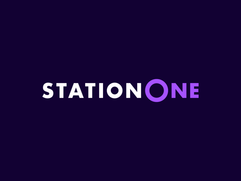 StationOne - Logo one station train alstom logotype logo