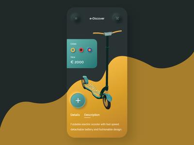 E-Discover Electric Scooter - Shop App