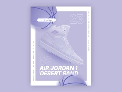 Air Jordan 1 Desert Sand