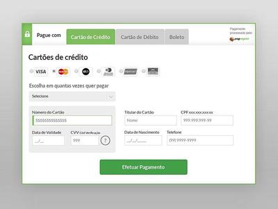 PagSeguro Transparent Checkout virtuemart plugin payment pagseguro popup checkout