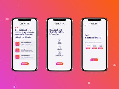 Gebruikr. App Final Design branding icon vector ux design ux ui design ui mobile design app
