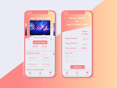 Soft UI Ticket Sale App - Neumorphism illustration branding ux design ux ui design ui mobile design app neumorphic neumorphism