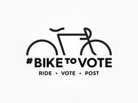 #BikeToVote