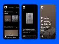 Museum Platform —Dark Mobile