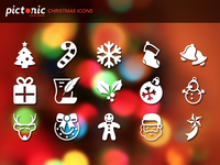 Pictonic - Font Icons: Christmas