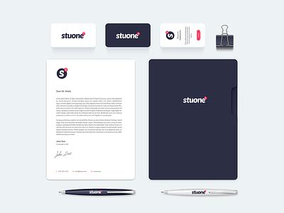 Brand for my new Digital Studio - Stuone website design app design stuone digital studio logo brand