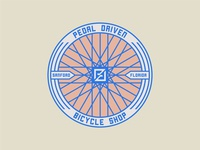 Pedal Driven Badge