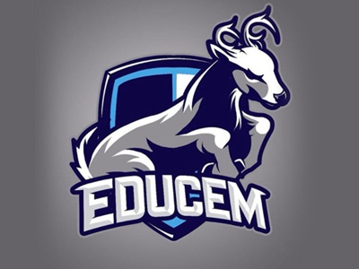 College Mascot Deer By Abraham Flores Dribbble Dribbble