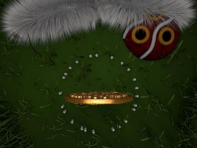 princess mononoke 1.4 render art design identity abstract 3d animation lighting octane cinema4d c4d 3d anime princessmononoke wolfprincess mask