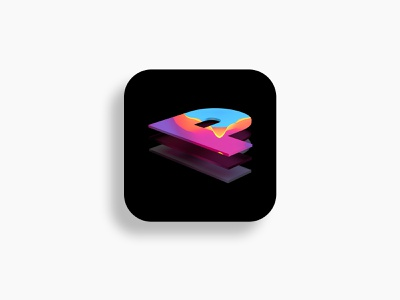 Procreate App Redesign 1.0 getcreativewithprocreate apple puzzle pattern layers illustration paint procreate identity c4d abstract lighting cinema4d minimal 3d branding ui logo design