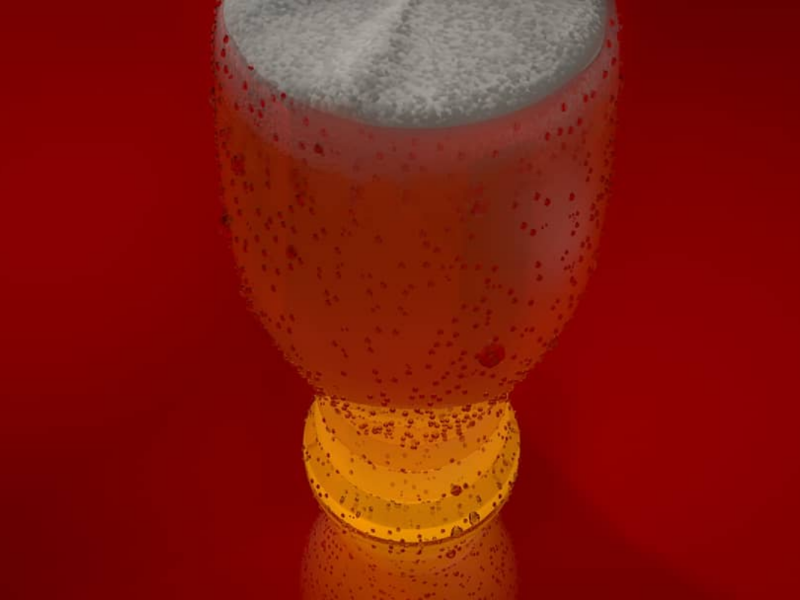vitamin ale 1.4 texture render octane modelling minimal material lighting food donut design creative cinema4d c4d art abstract 3d