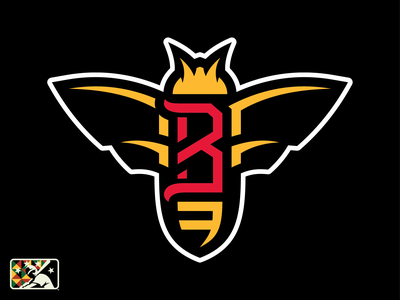 Birmingham Black Barons alabama negro leagues triple 3 sports logo bee b barons black birmingham