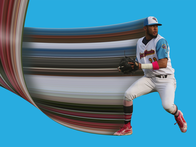 Fernando Tatis Jr. padres mlb milb copa chanclas flying stretch pixel tatis fernando graphic design sports