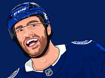 Brayden Point sports procreate ipad pro illustration hockey design lightning apple pencil