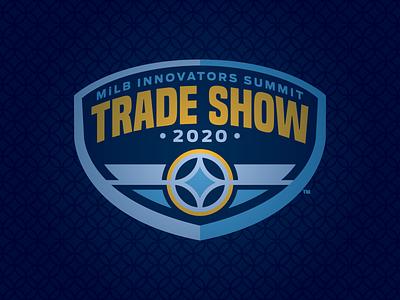 Virtual Trade Show summit sports milb logo innovators design branding baseball badge