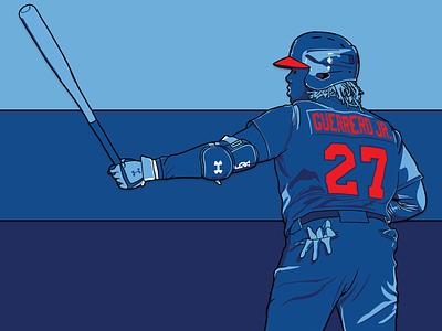 Buffalo Blue Jays: Vlad Guerrero Jr. milb mlb buffalo toronto blue jays design illustration player baseball sports