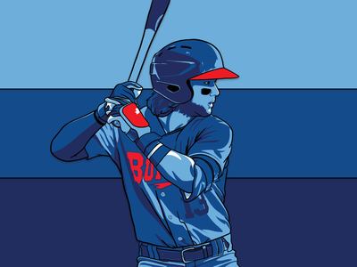 Buffalo Blue Jays: Bo Bichette toronto sports player mlb milb illustration design buffalo blue jays baseball